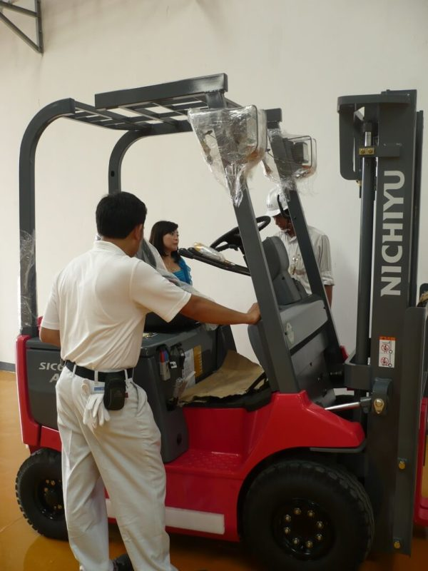 Forklift Nichiyu Grow Up Your Business