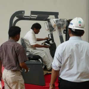 Forklift Nichiyu Power Up Productivity