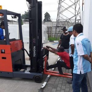 Reach Truck Toyota Intralogistics Solution