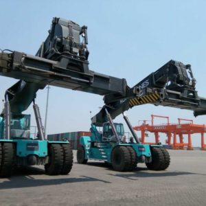 Promo Kone Cranes Reach Stacker 2020